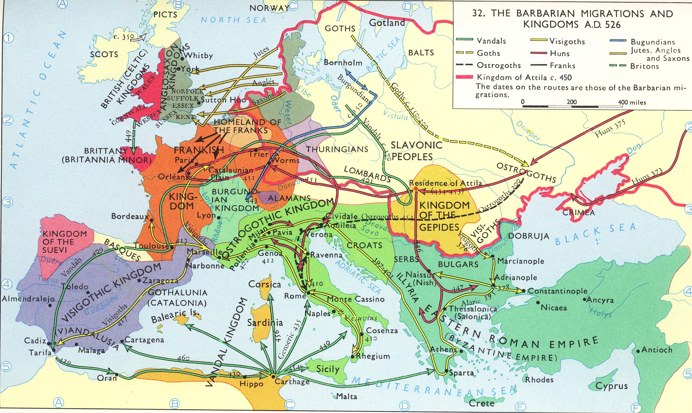 What caused the fall of the roman empire?