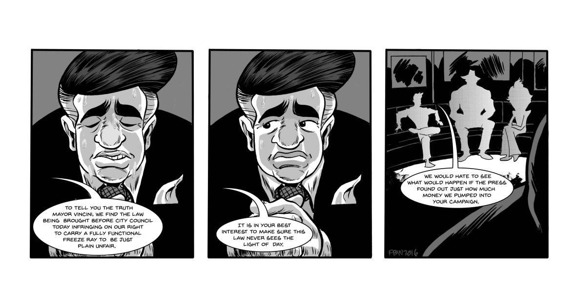 Strip 124 lettered