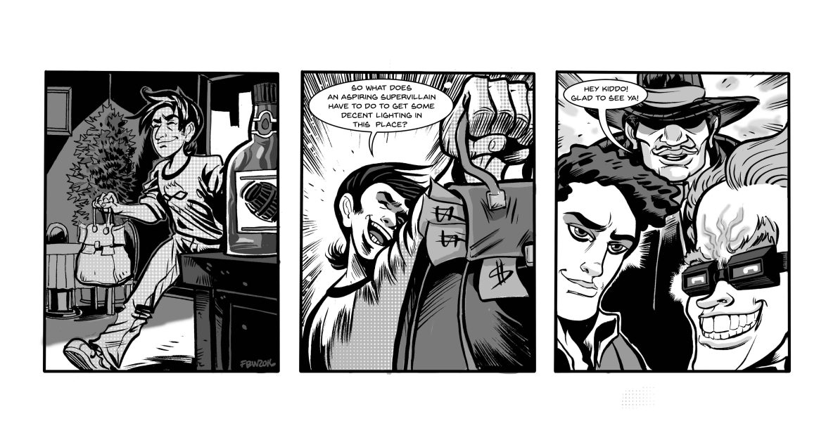 Strip 126 lettered