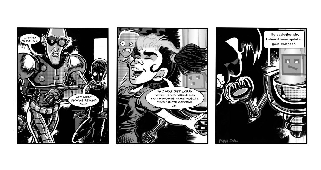 Strip 137 lettered