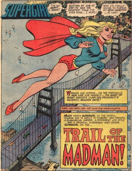 Image result for art saaf supergirl 1