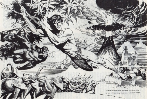 Image result for russ manning tarzan