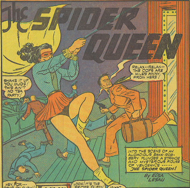 Image result for golden age spider queen
