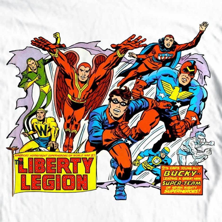 Image result for marvel comics the liberty legion