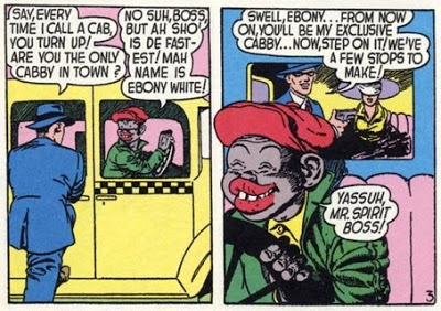 Image result for ebony white golden age of comics