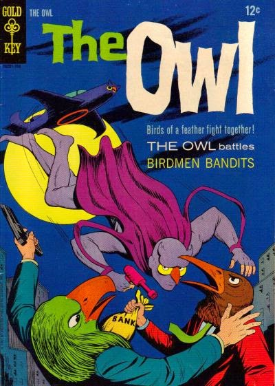Image result for gold key comics the owl