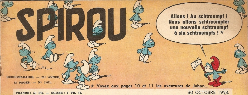 Image result for the smurfs 1958