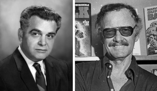 Image result for stan lee and jack kirby