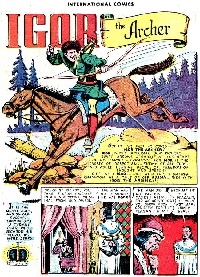 Refer To Russian Comics Fictional