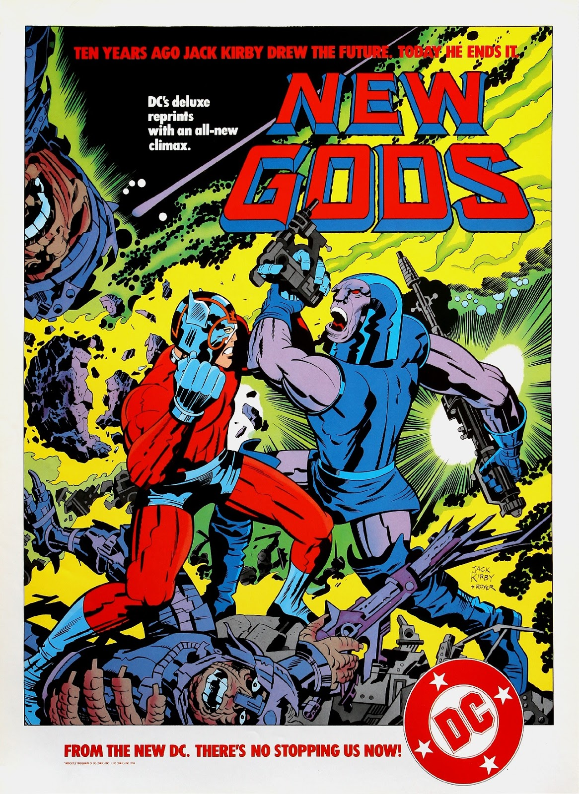 Image result for jack kirby darkseid and new genesis