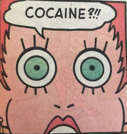Image result for angel love comic cocaine