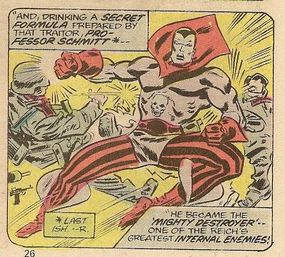 Image result for mystic comics the destroyer